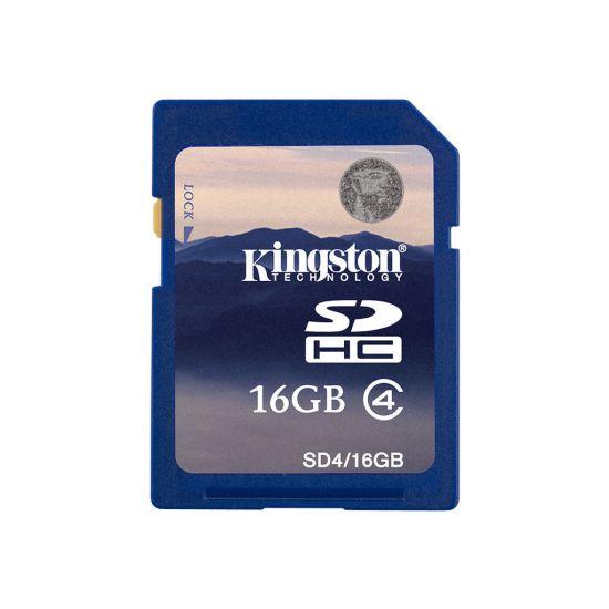 Kingston - flashhukommelseskort - 16 GB - SDHC