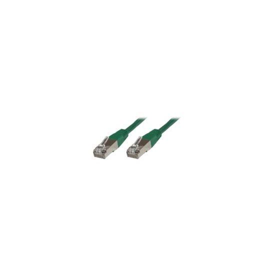 MicroConnect netværkskabel - 20 m - grøn