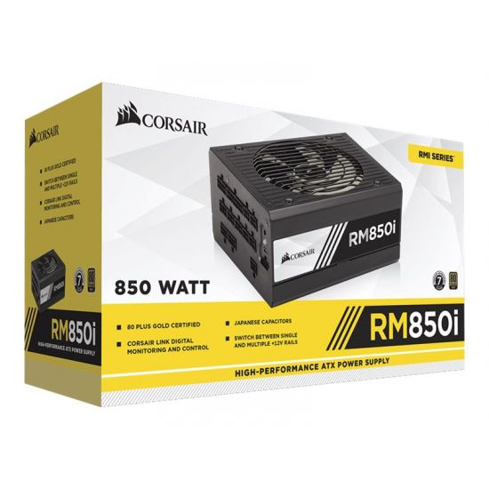 CORSAIR RMi Series RM850i &#45 strømforsyning &#45 850W