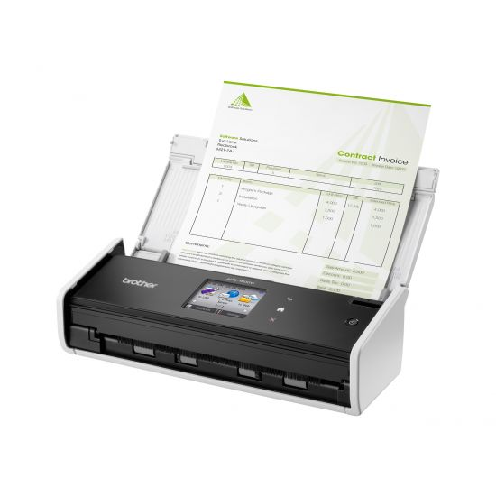 Brother ImageCenter ADS-1600W - dokumentscanner - desktopmodel - USB 2.0, Wi-Fi(n)