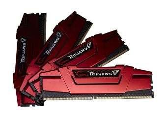 G.Skill Ripjaws V &#45 64GB: 4x16GB &#45 DDR4 &#45 2666MHz &#45 DIMM 288-PIN