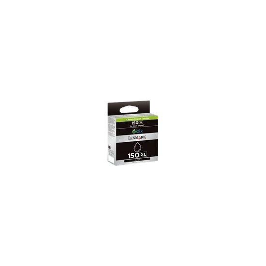 Lexmark Cartridge No. 150XL - Højtydende - sort - original - blækpatron - LCCP, LRP