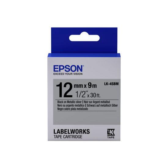 Epson LabelWorks LK-4SBM - mærkattape - 1 rulle(r)