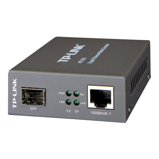 TP-Link MC220L - fibermedieomformer - GigE