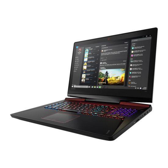 """Lenovo IdeaPad Y910-17ISK 80V1 - Intel i7 6820HK / 2.7 GHz - 32GB DDR4 - 512GB PCIe SSD + 1 TB HDD - NVIDIA GeForce GTX 1070 8GB GDDR5 - 17.3"""" IPS"""