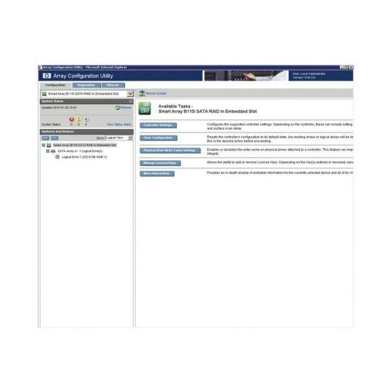 HPE Smart Array Hot Plug Advanced Pack for B110i - licens + 1 år 24x7 support