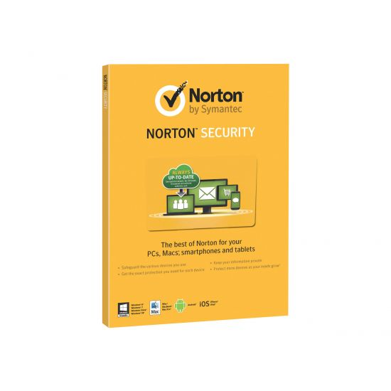 Norton Security 2.0 - Bokspakke 5 enheder Nordisk