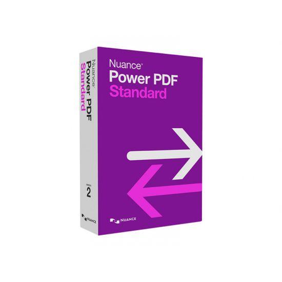 Nuance Power PDF Standard (v. 2.0) - bokspakke - 1 bruger