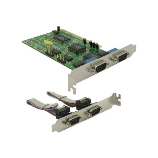 DeLock PCI Card 4x Serial - seriel adapter