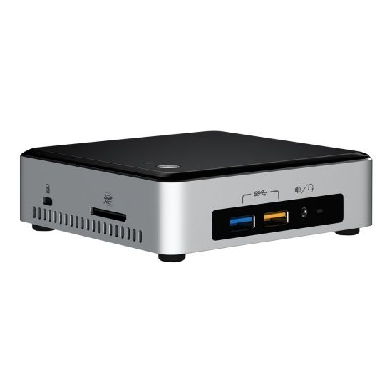 Intel Next Unit of Computing Kit NUC6i3SYK - Core i3 6100U 2.3 GHz - 0 MB - 0 GB
