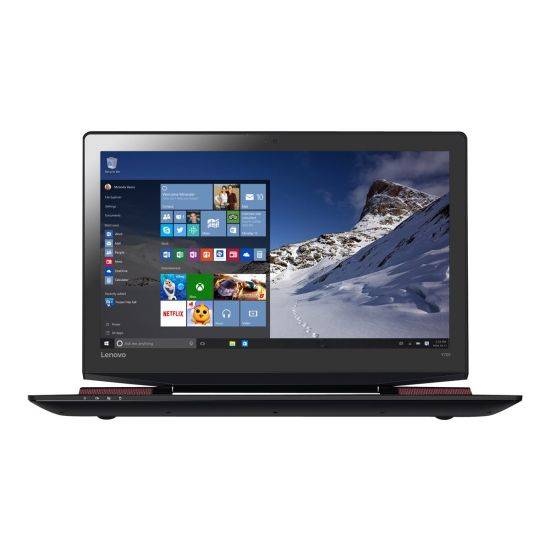 Lenovo Y700-17ISK 80Q0 - 8GB Core i5 GTX960M 4GB 256GB SSD 17.3´´ Full HD Sort Gamer bærbar