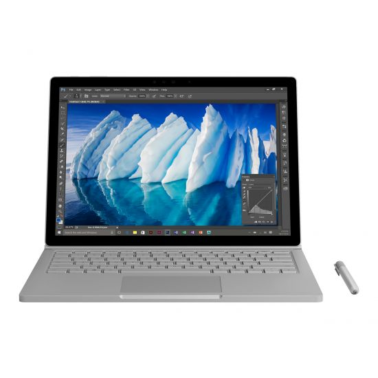 "Microsoft Surface Book with Performance Base - 13.5"" - Core i7 6600U - 8 GB RAM - 256 GB SSD - Dansk/Finsk/Norsk/Svensk"