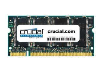 Crucial &#45 1GB &#45 DDR &#45 333MHz &#45 SO DIMM 200-PIN