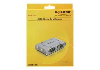 DeLock USB 2.0 to 4 port serial HUB