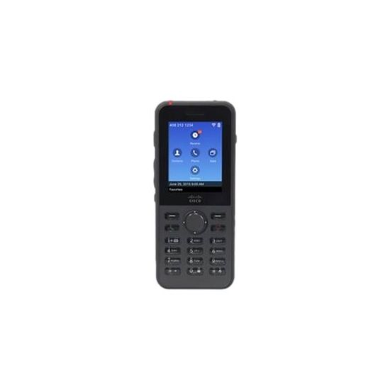 Cisco Unified Wireless IP Phone 8821 - ekstra trådløst håndsæt - Bluetooth-interface