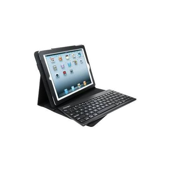 Kensington KeyFolio Pro 2 Removable Keyboard, Case & Stand - tastatur og folio-kasse - Tysk