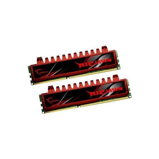 G.Skill Ripjaws &#45 8GB: 2x4GB &#45 DDR3 &#45 1600MHz &#45 DIMM 240-pin - CL9