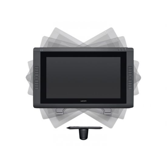 Wacom Cintiq 22HD - digitizer - USB - sort