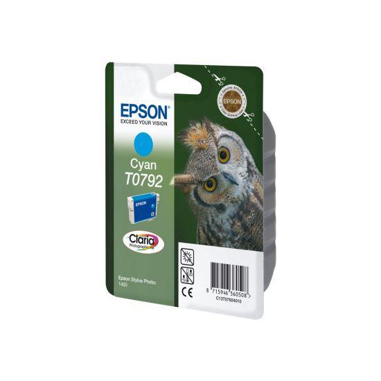 Epson T0792 - cyan - original - blækpatron