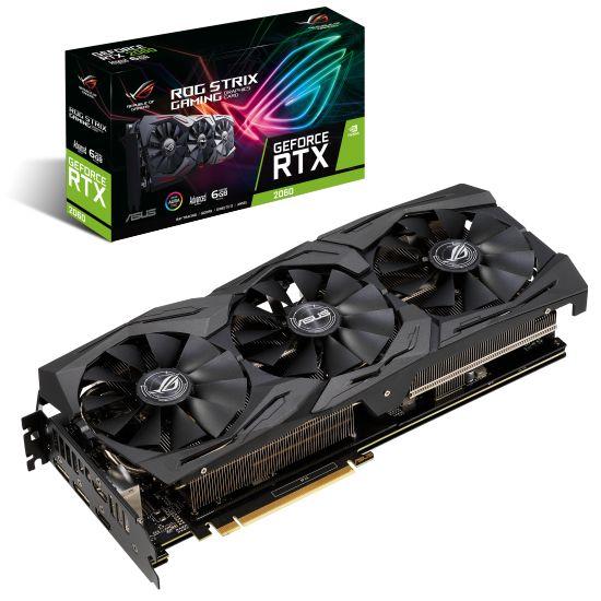 ASUS ROG-STRIX-RTX2060-A6G-GAMING - NVIDIA RTX2060 6GB GDDR6