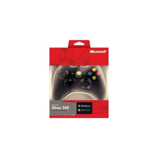 Microsoft Xbox 360 Controller for Windows - gamepad - kabling