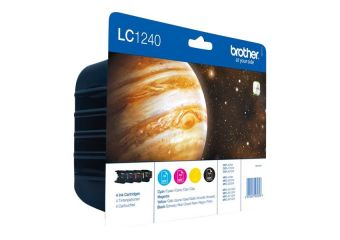 Brother LC1240 Value-Pack