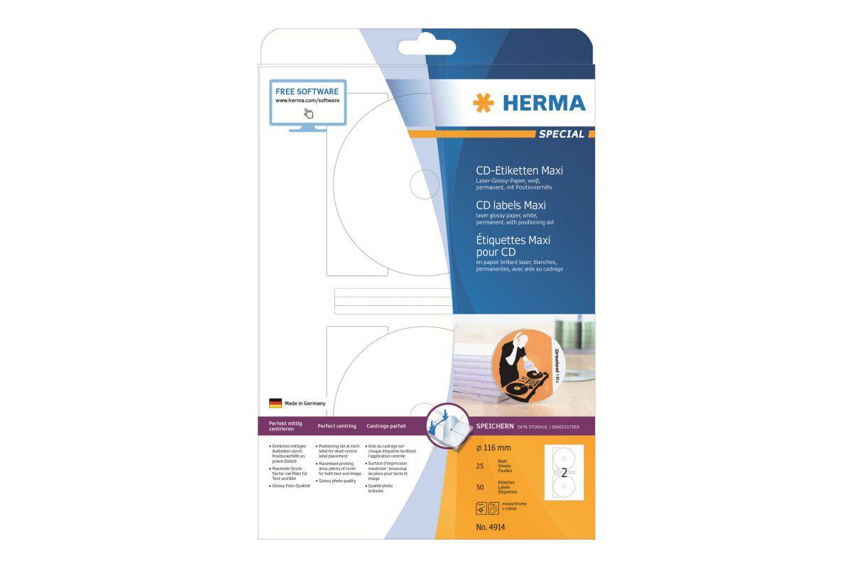 HERMA Special Maxi