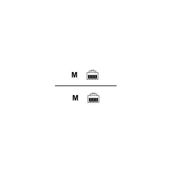 DELTACO telefonkabel - 2 m