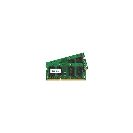 Crucial &#45 16GB: 2x8GB &#45 DDR3 &#45 1866MHz &#45 SO DIMM 204-PIN - CL13