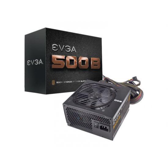 EVGA 500B Bronze &#45 strømforsyning &#45 500W