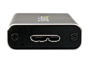StarTech.com USB 3.0 to M.2 SATA External SSD Enclosure with UASP
