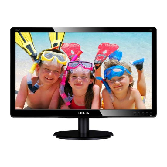 "Philips V-line 226V4LAB &#45 WLED 21.5"" 5ms - Full HD 1920x1080 ved 60Hz"