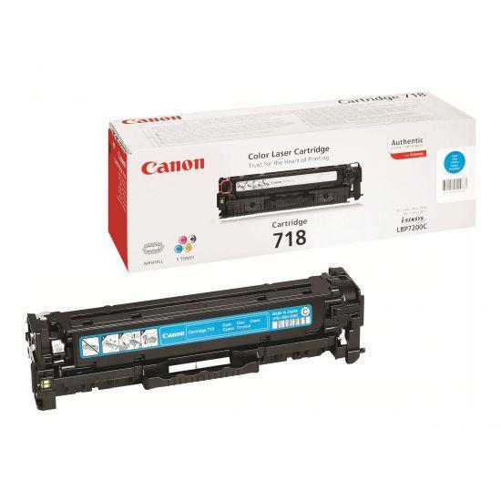 Canon 718 Cyan - cyan - original - tonerpatron