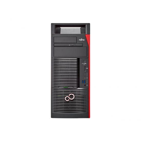 Fujitsu Celsius M770 - tower - Xeon W-2123 3.6 GHz - 16 GB - 512 GB - Nordisk