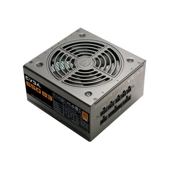 EVGA 650 B3 &#45 strømforsyning &#45 650W