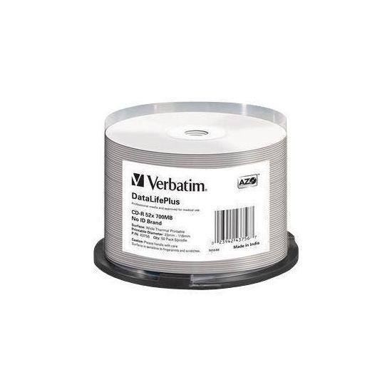Verbatim DataLifePlus Professional - CD-R x 50 - 700 MB - lagringsmedie