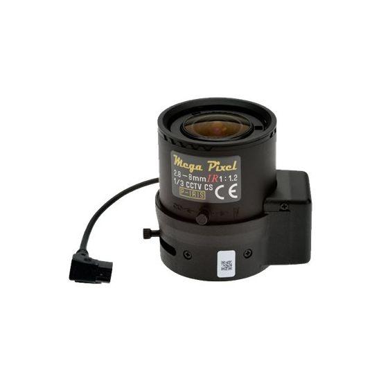AXIS Megapixel CCTV objektiv - 2.8 mm - 8 mm