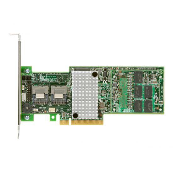 Intel RAID Controller RS25DB080 - styreenhed til lagring (RAID) - SATA 6Gb/s / SAS 6Gb/s - PCIe 2.0 x8