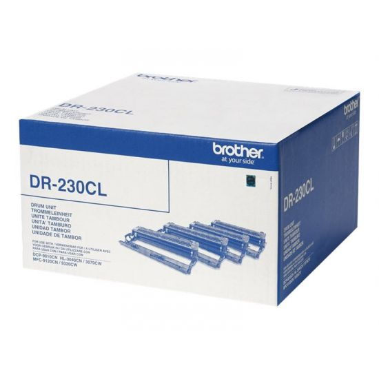 Brother DR230CL - sort, gul, cyan, magenta - tromlekit