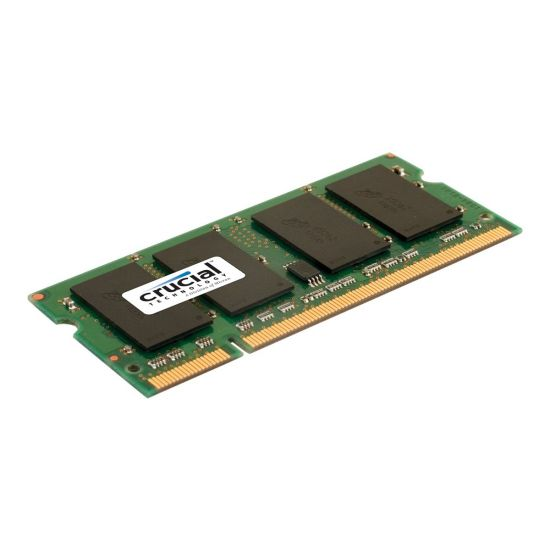 Crucial - DDR2 - 2 GB - SO DIMM 200-PIN - ikke bufferet