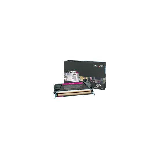 Lexmark - Højtydende - magenta - original - tonerpatron - LCCP