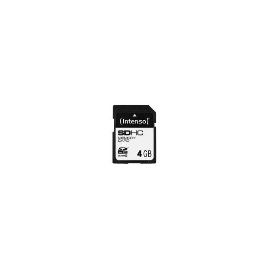 Intenso Class 10 - flashhukommelseskort - 4 GB - SDHC