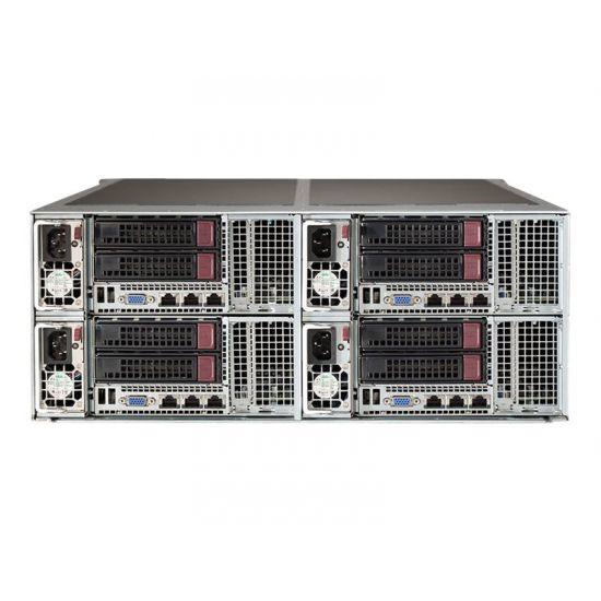 Supermicro SuperServer F628R3-R72B+ - rack-monterbar - uden CPU - 0 MB - 0 GB