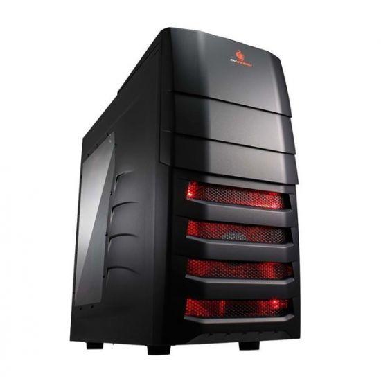 Føniks Intel i7/GTX1080 Gamer Computer - Intel i7 8700 - 16GB DDR4 - Nvidia GTX 1080 8GB - 480GB SSD + 2TB HDD
