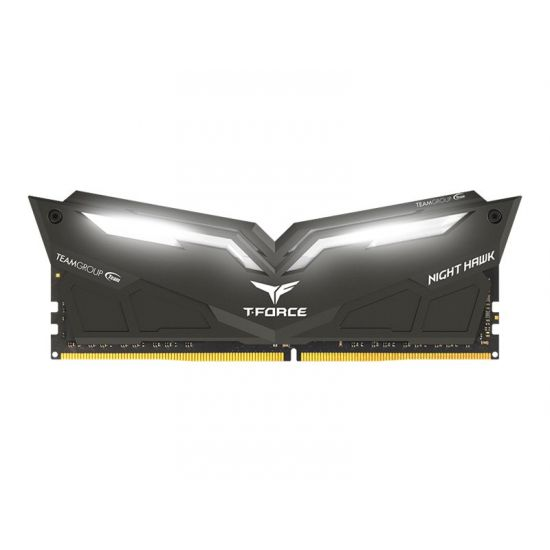 Team T-Force Night Hawk &#45 16GB: 2x8GB &#45 DDR4 &#45 3200MHz &#45 DIMM 288-PIN - CL16