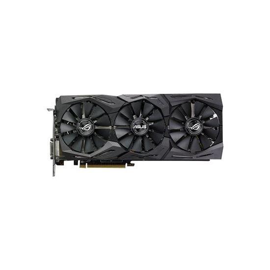 ASUS ROG-STRIX-RX580-T8G-GAMING &#45 AMD Radeon RX580 &#45 8GB GDDR5 - PCI Express 3.0 x16