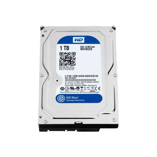 WD Blue WD10EZEX - 3.5´´ SATA-600 1TB 7200rpm 64MB
