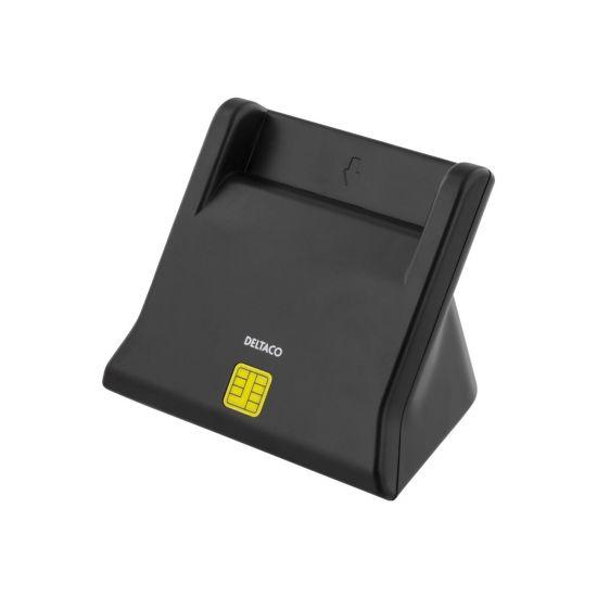 DELTACO UCR-156 - SMART-kortlæser - USB