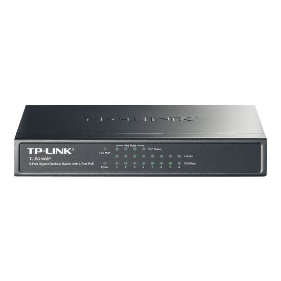 TP-LINK TL-SG1008P PoE - 8-port Switch