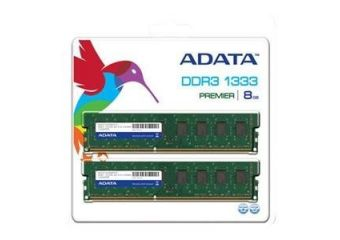 ADATA Premier Series &#45 4GB: 2x2GB &#45 DDR3 &#45 1333MHz &#45 DIMM 240-pin